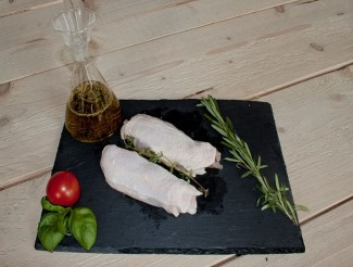 Chicken fillet single (with skin)